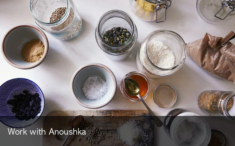 Work with Anoushka